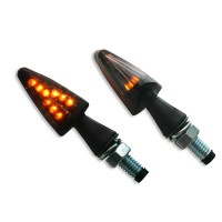 LED SMOKE - LENS TURN SIGNAL / ABS / BLACK - 01240772