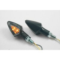 LED SMOKE - LENS TURN SIGNAL / ABS / BLACK - 012521221