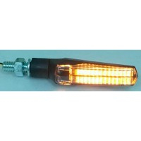 LED SMOKE - LENS TURN SIGNAL / ABS / BLACK - 012537021