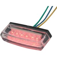 LED TAIL LIGHT / CLEAR LENS / CLEAR - 0119505