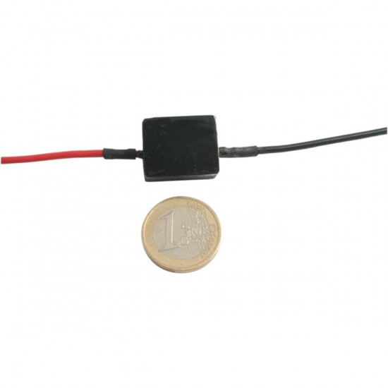 SELF-ADJUSTING FLASHER RELAY / 5V-16V|0,1W-90W / BLACK - 0122953