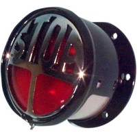 VINCENT STYLE 70MM|17,78 TAILLIGHT / NATURAL CHROME - 0108462