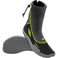 AMP NEOPRENE BOOTS BLACK/LIME 2X-LARGE - 3261-0150