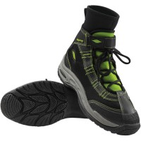 LIQUID AIRMESH/NEOPRENE BOOTS BLACK/LIME SMALL - 3261-0152