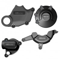 Protections de carter moteur GB Racing Ducati 848 2008-2013 - Alternateur/embrayage/pompe à eau