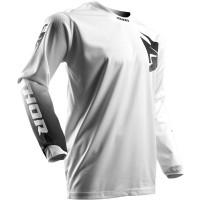 Maillot cross PULSE™ WHITEOUT S7 Thor Blanc - Taille au choix