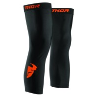 COMP S8 KNEE SLEEVE BLACK/RED ORANGE S/M - 2704-0455