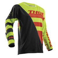 FUSE AIR™ RIVE S8 OFFROAD JERSEY LIME/ORANGE LARGE - 2910-4325