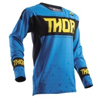 FUSE™ BION S8 OFFROAD JERSEY BLUE LARGE - 2910-4300