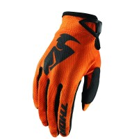 SECTOR S8 OFFROAD GLOVES ORANGE SMALL - 3330-4729