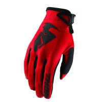 SECTOR S8 OFFROAD GLOVES RED X-SMALL - 3330-4734