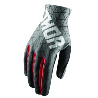 VOID VAWN S8 OFFROAD GLOVES BLACK/RED LARGE - 3330-4701