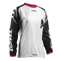 WOMENS SECTOR™ ZONES S8W OFFROAD JERSEY BLACK/PINK X-LARGE - 2911-0166