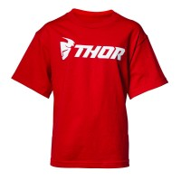 YOUTH LOUD S8Y T-SHIRT RED X-SMALL - 3032-2602