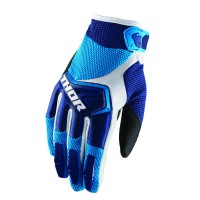 YOUTH SPECTRUM S8Y OFFROAD GLOVES NAVY/BLUE/WHITE LARGE - 3332-1216