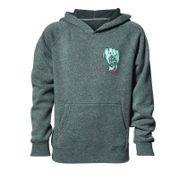 YOUTH WIDE OPEN S8Y HOODY GRAY LARGE - 3052-0430