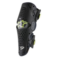 SX-1 OFFROAD KNEE GUARD BLACK/ANTHRACITE 2X-LARGE - 6506316-104-2XL