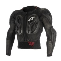YOUTH BIONIC ACTION PROTECTION JACKET BLACK S/M - 6546818-13-SM