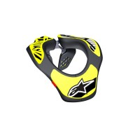 YOUTH NECK SUPPORT BLACK/YELLOW ONE SIZE - 6540118-155-OS