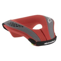 YOUTH SEQUENCE NECK SUPPORT RED/BLACK S/M - 6741018-13-SM