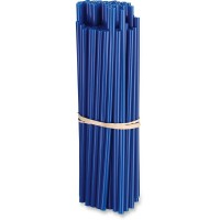 80-PACK POLYURETHANE SPOKE SKINS BLUE - O15-6580L