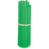 80-PACK POLYURETHANE SPOKE SKINS GREEN - O15-6580GN