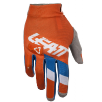 Gants LEATT GPX 3.5 Lite orange/denim taille S/EU7/US8