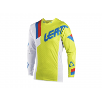 Maillot LEATT GPX 5.5 Ultraweld lime/blanc taille XL