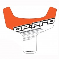 Chest Plate Sticker For GP-Pro Off-Road Body Protector - Green, Blue, Orange/Red, Black
