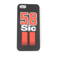Marco Simoncelli #58 iPhone 5 Cover - Sic Black