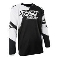 SHOT Contact Claw Jersey - Black
