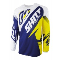 SHOT Contact Fast Jersey - Blue / Yellow