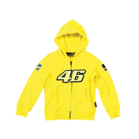 Valentino Rossi 46 Kid's Hoodie - Yellow / The Doctor