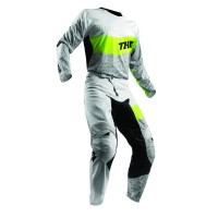 PANT S8S FUSEHTD GY/LM 36 - 2901-6993