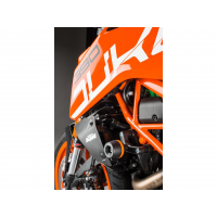 Tampon de protection LIGHTECH noir KTM 390 Duke