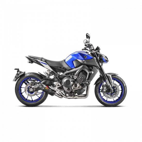 ligne d 39 chappement compl te racing akrapovic yamaha mt 09 2014 2018 akrapovic. Black Bedroom Furniture Sets. Home Design Ideas