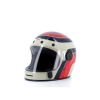 Casque BELL Bullitt Carbon Hustle Matte/Gloss Red/Sand/Candy Blue taille XS