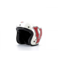 Casque BELL Custom 500 DLX SE RSD WFO Gloss White/Red taille XS