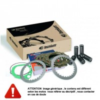 Kit Complet pour Embrayage moto : Disques lisses + garnis